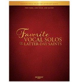 Jackman Music Favorite Vocal Solos for Latter-day Saints - Low Voice