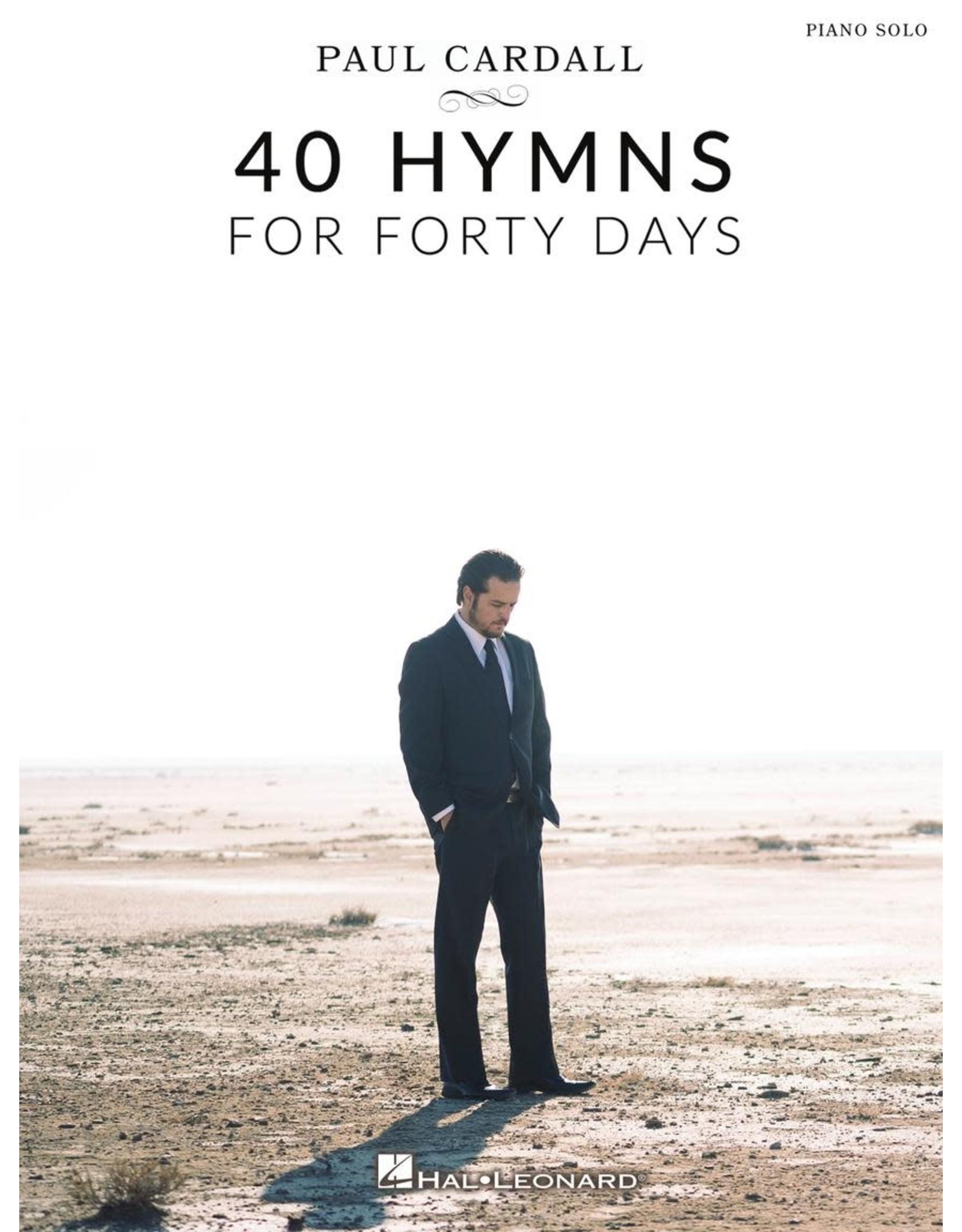 Hal Leonard Paul Cardall - 40 Hymns for Forty Days