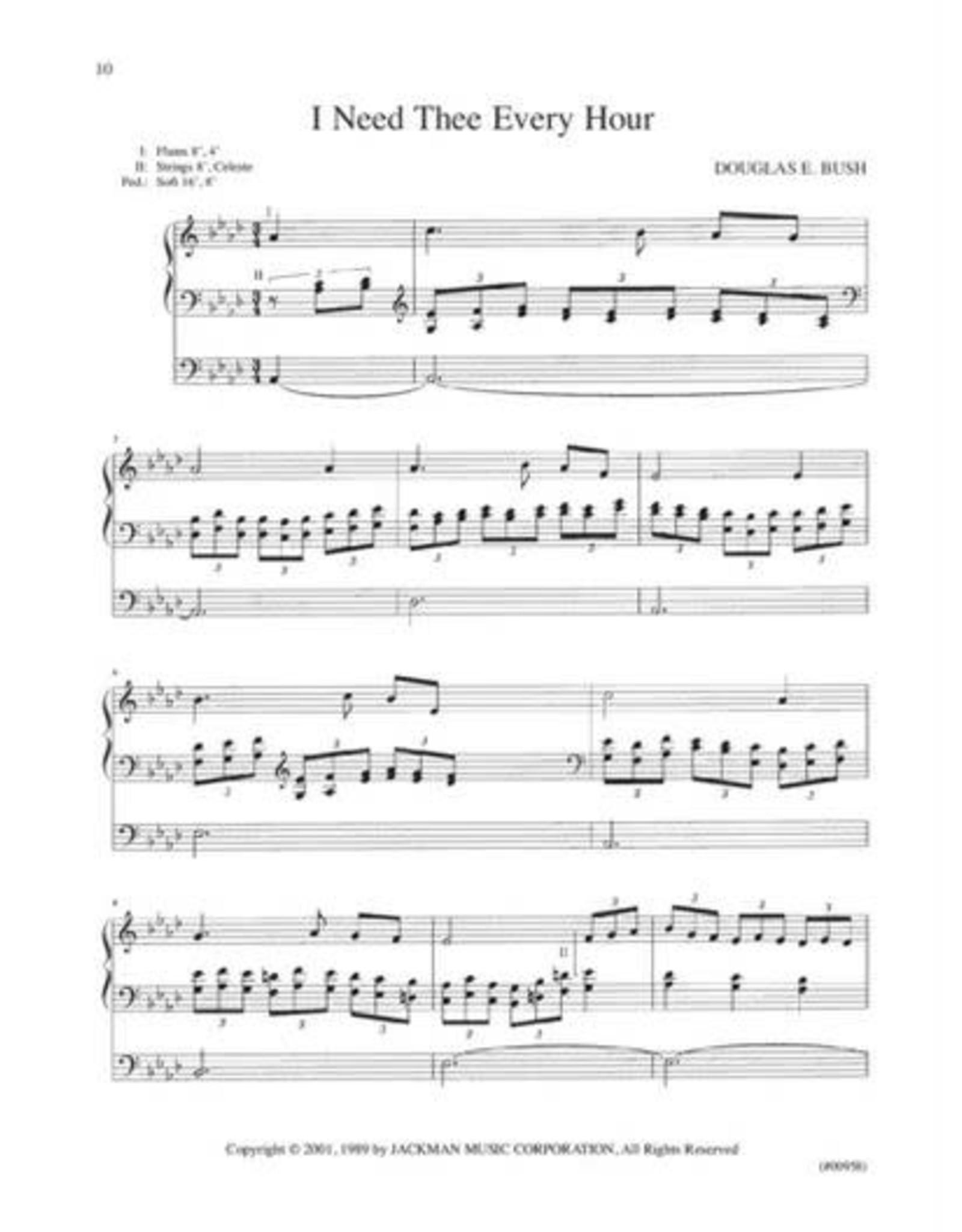 Jackman Music Advanced Organ Hymn Settings Vol. 1 Douglas E. Bush