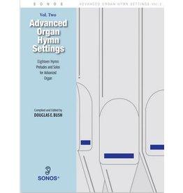 Jackman Music Advanced Organ Hymn Settings Vol. 2 Douglas E. Bush