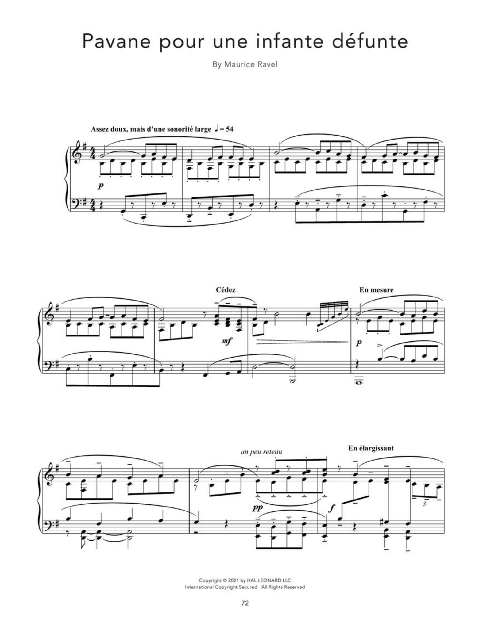 Hal Leonard Peaceful Classical Piano Solos