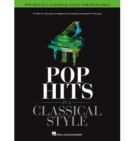Hal Leonard Pop Hits in a Classical Style