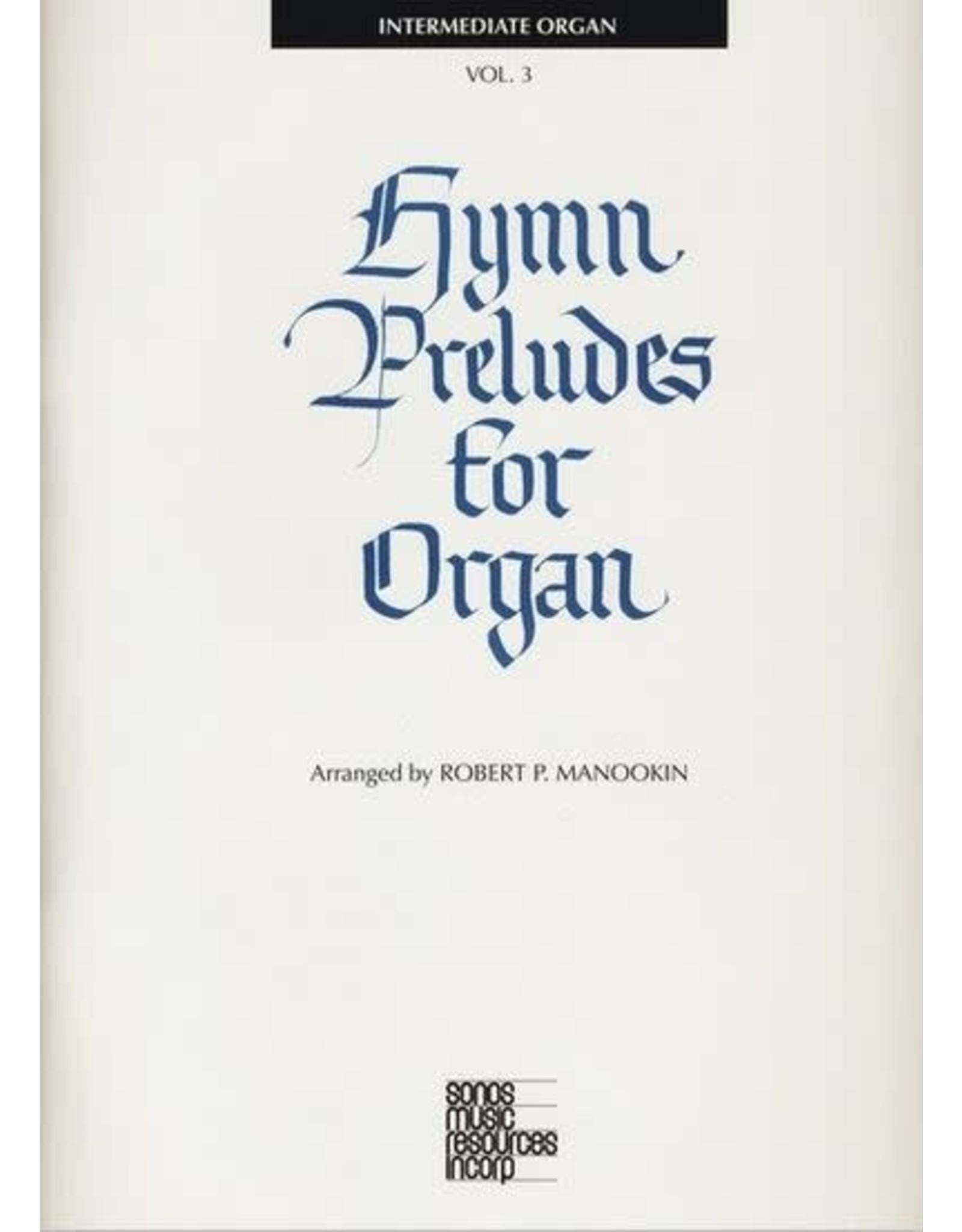 Jackman Music Hymn Preludes for Organ Book 3 arr. Robert P. Manookin
