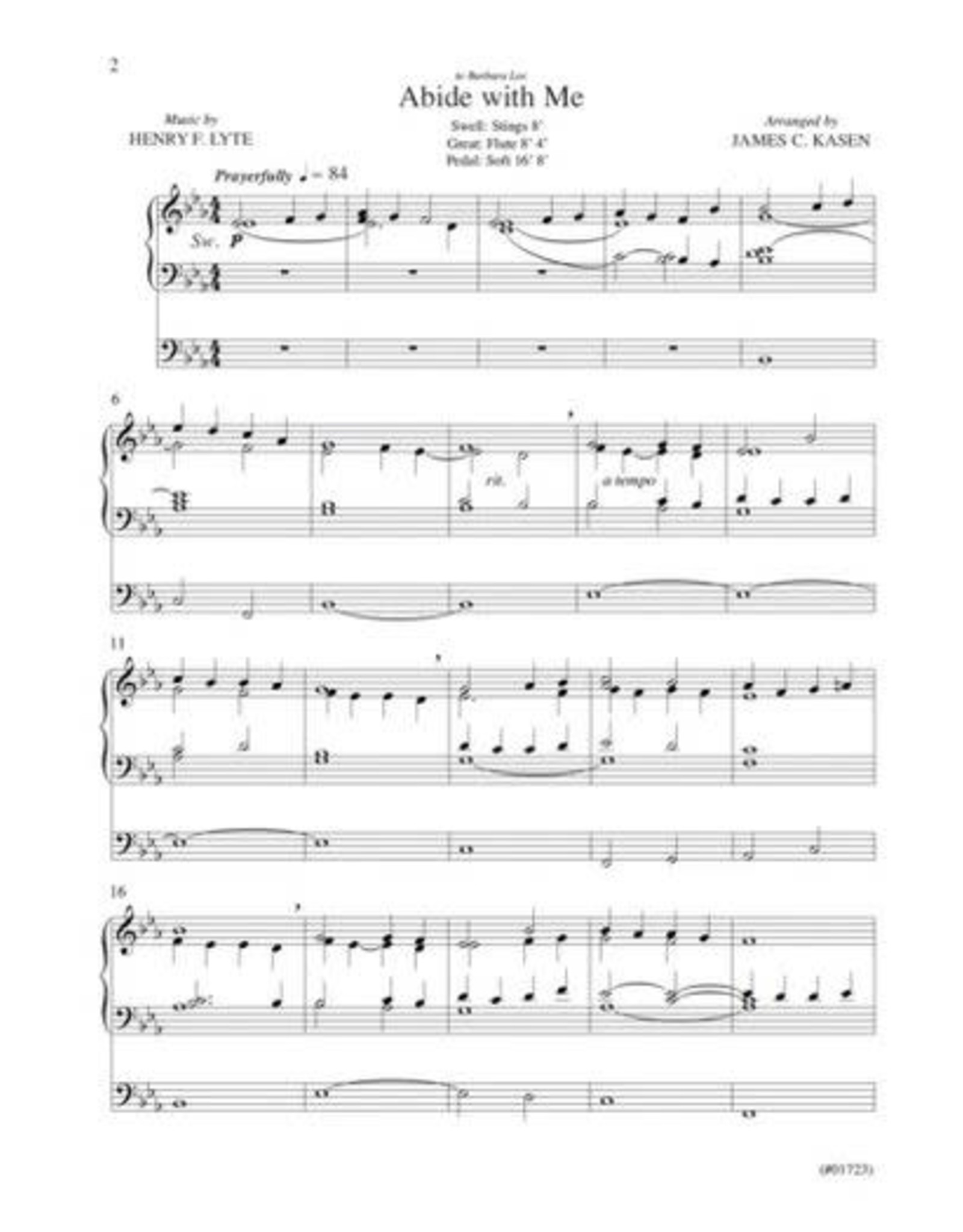 Jackman Music Organ Postludes for Church Services Vol. 3 arr. James C. Kasen