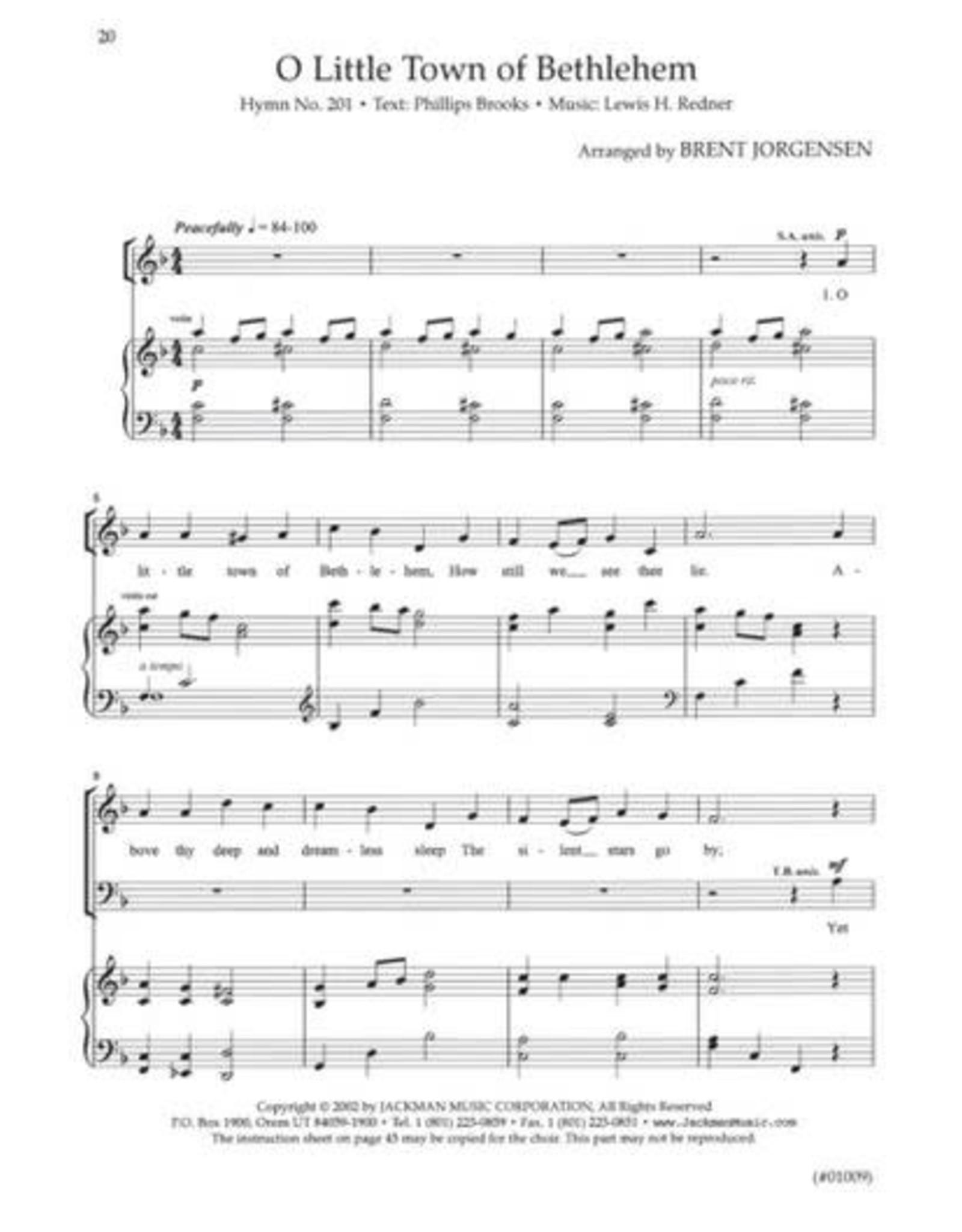 Jackman Music Hymnplicity Christmas, Book 2