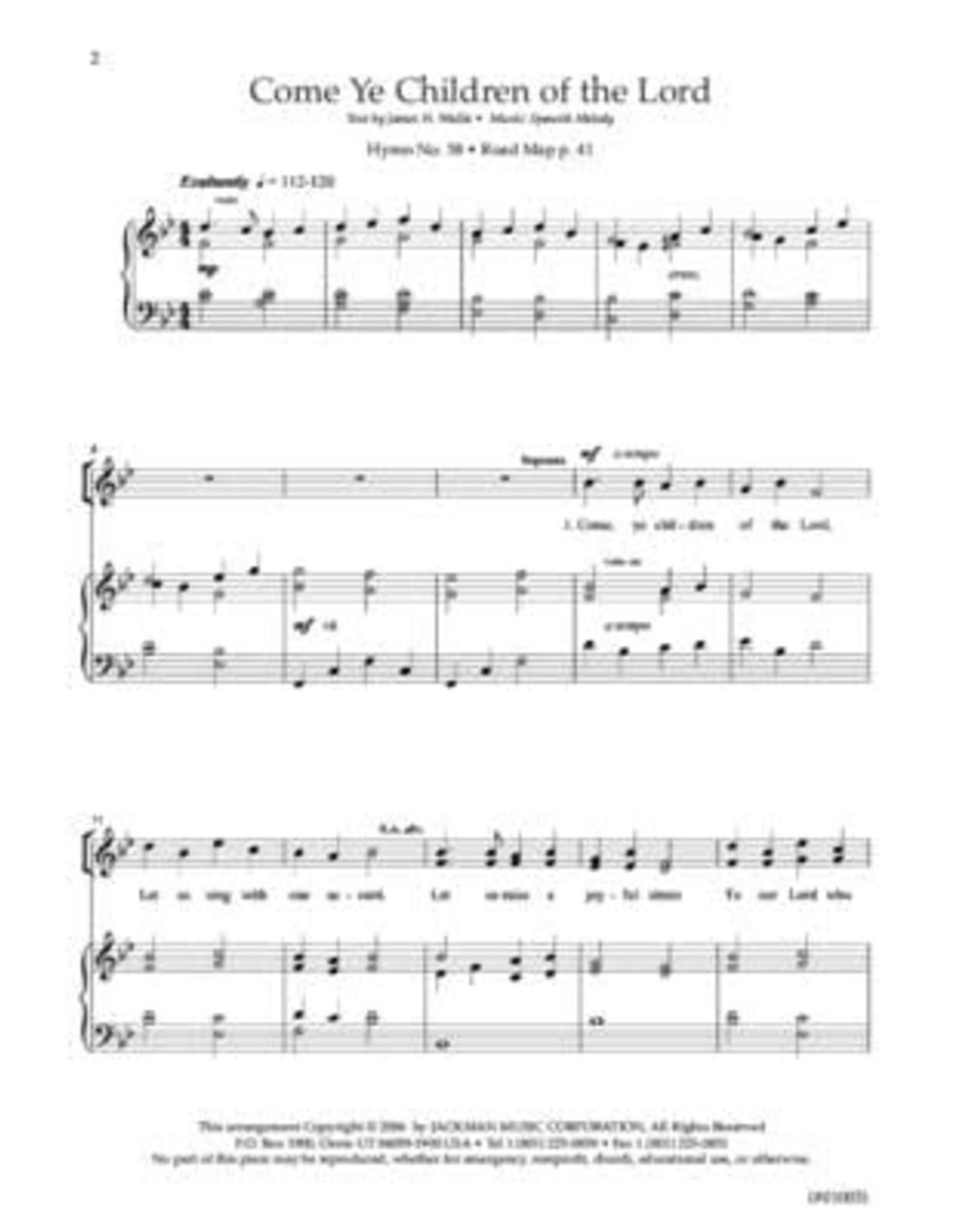 Jackman Music Hymnplicity Ward Choir, Book 7