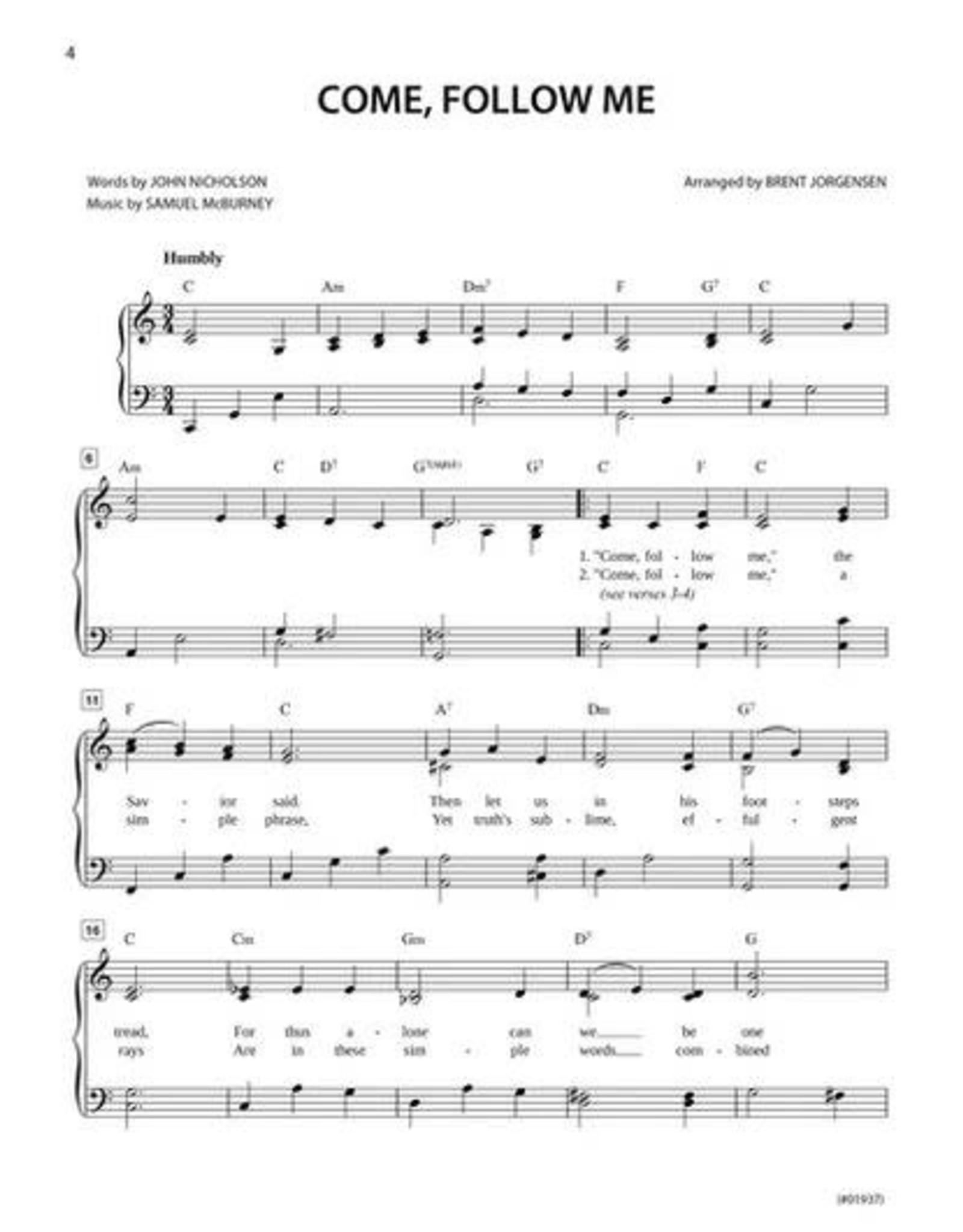Jackman Music Hymn-Alongs Vol. 1 - arr. Brent Jorgensen - Piano Accompaniment Book