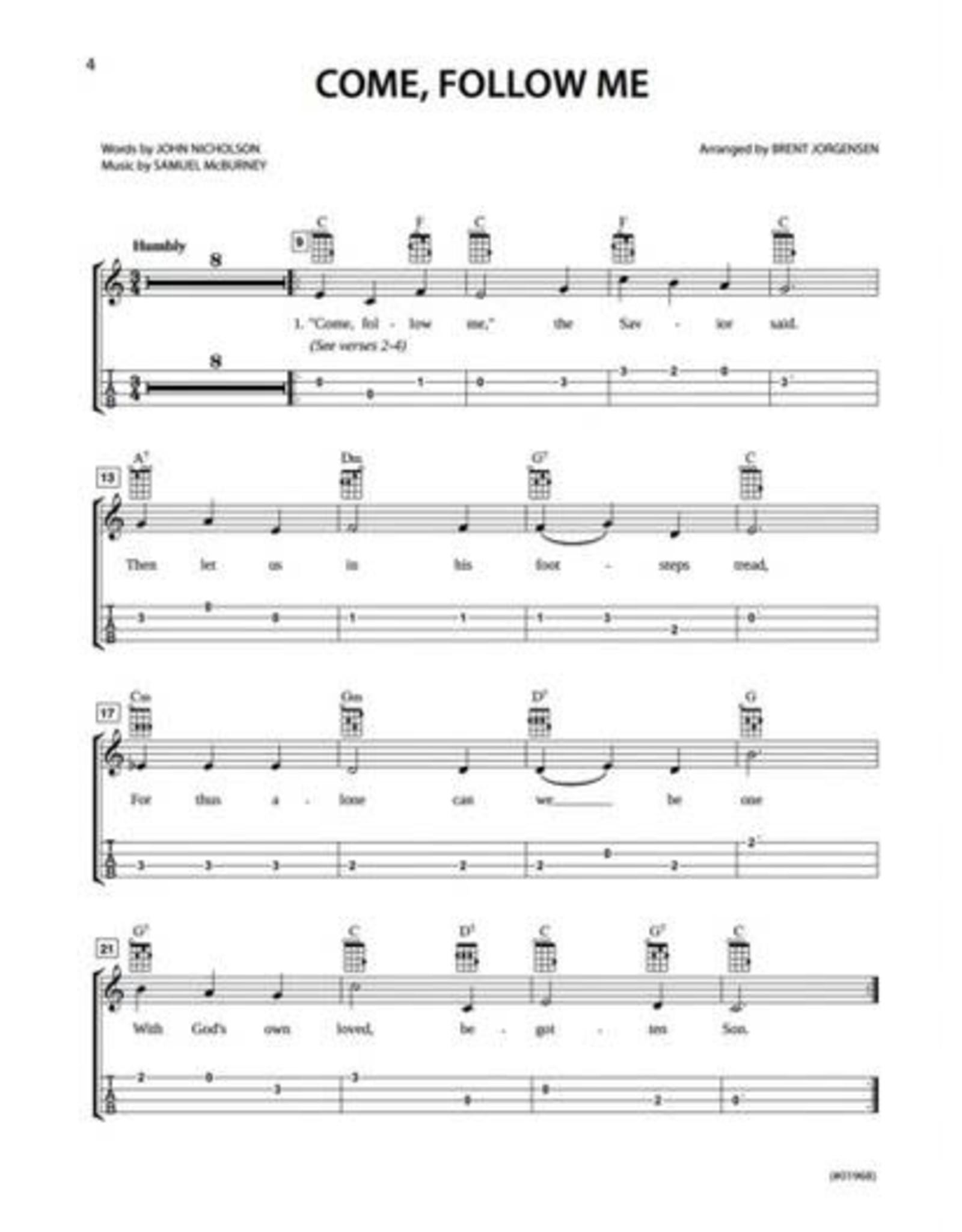 Jackman Music Hymn-Alongs Vol. 1 - arr. Brent Jorgensen - Ukulele