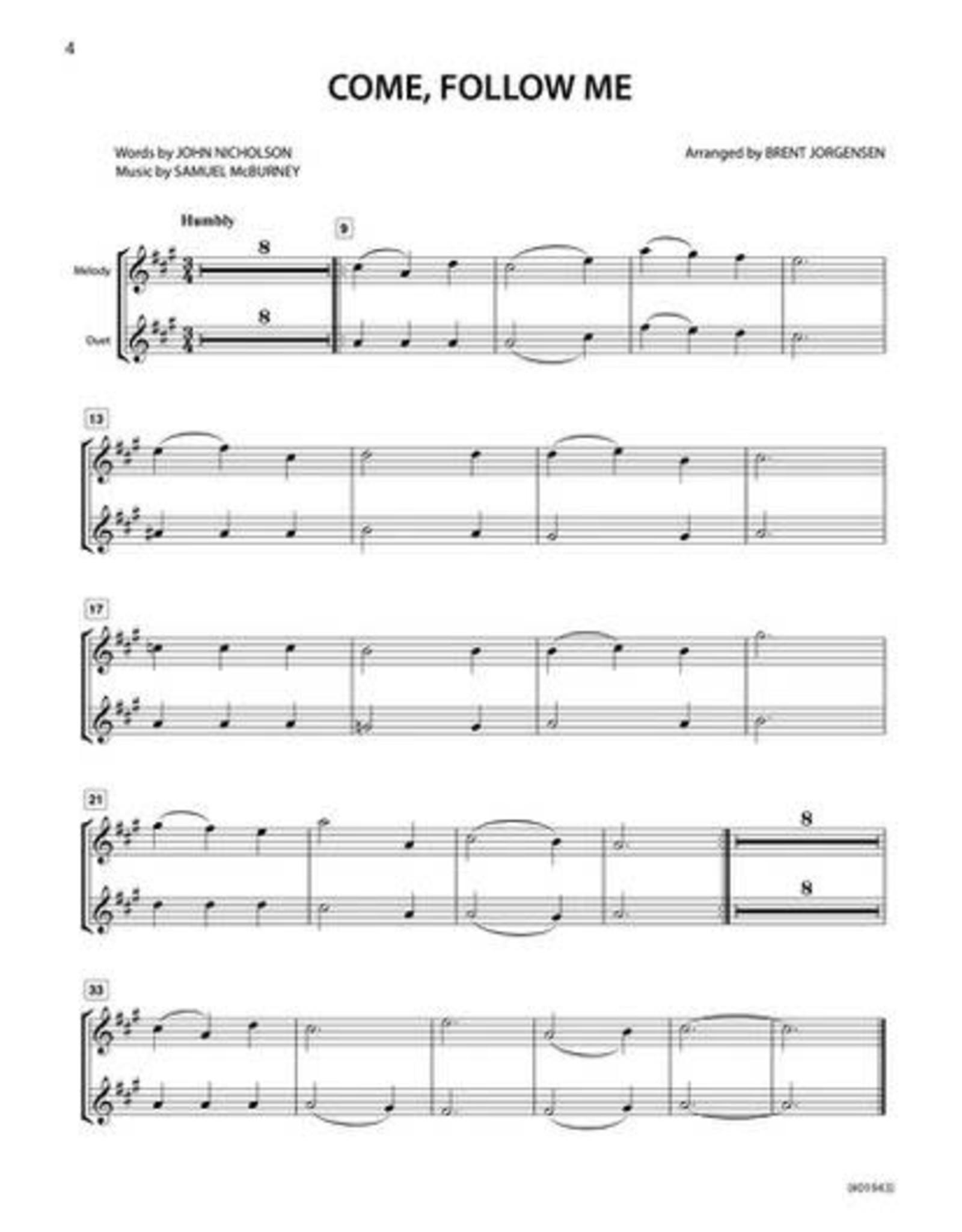 Jackman Music Hymn-Alongs Vol. 1 - arr. Brent Jorgensen - Alto Saxophone
