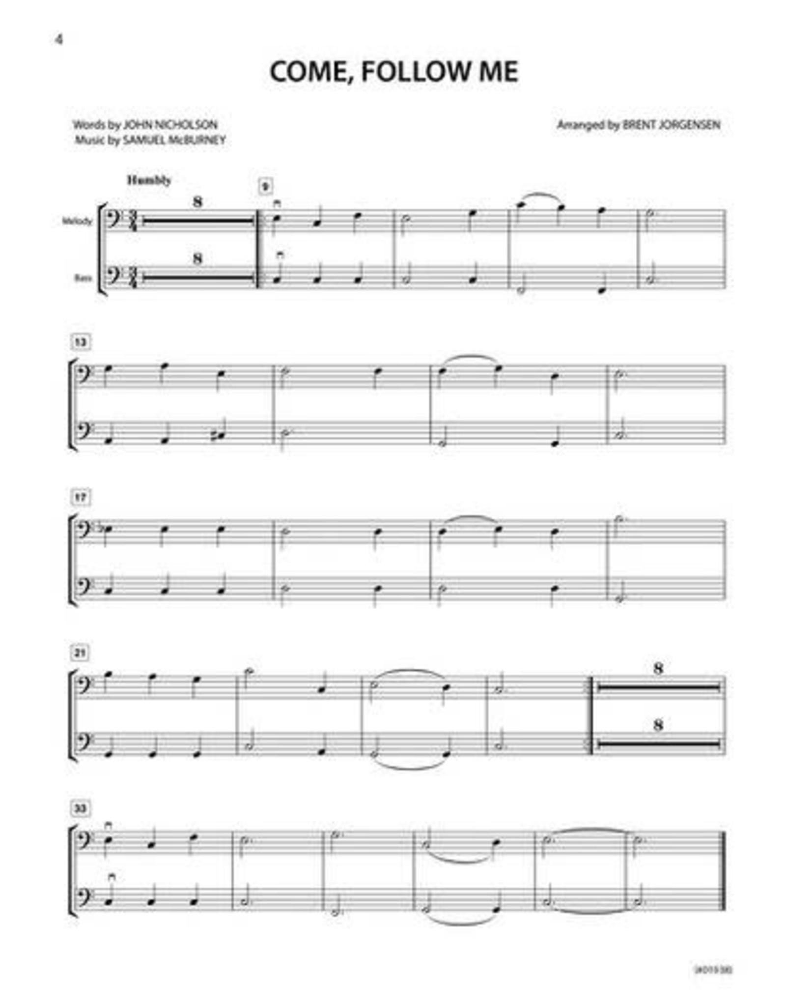 Jackman Music Hymn-Alongs Vol. 1 - arr. Brent Jorgensen - String Bass