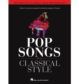 Hal Leonard Pop Songs in a Classical Style