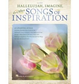 Hal Leonard Songs of Inspiration (Hallelujah, Imagine and Others) Easy Piano