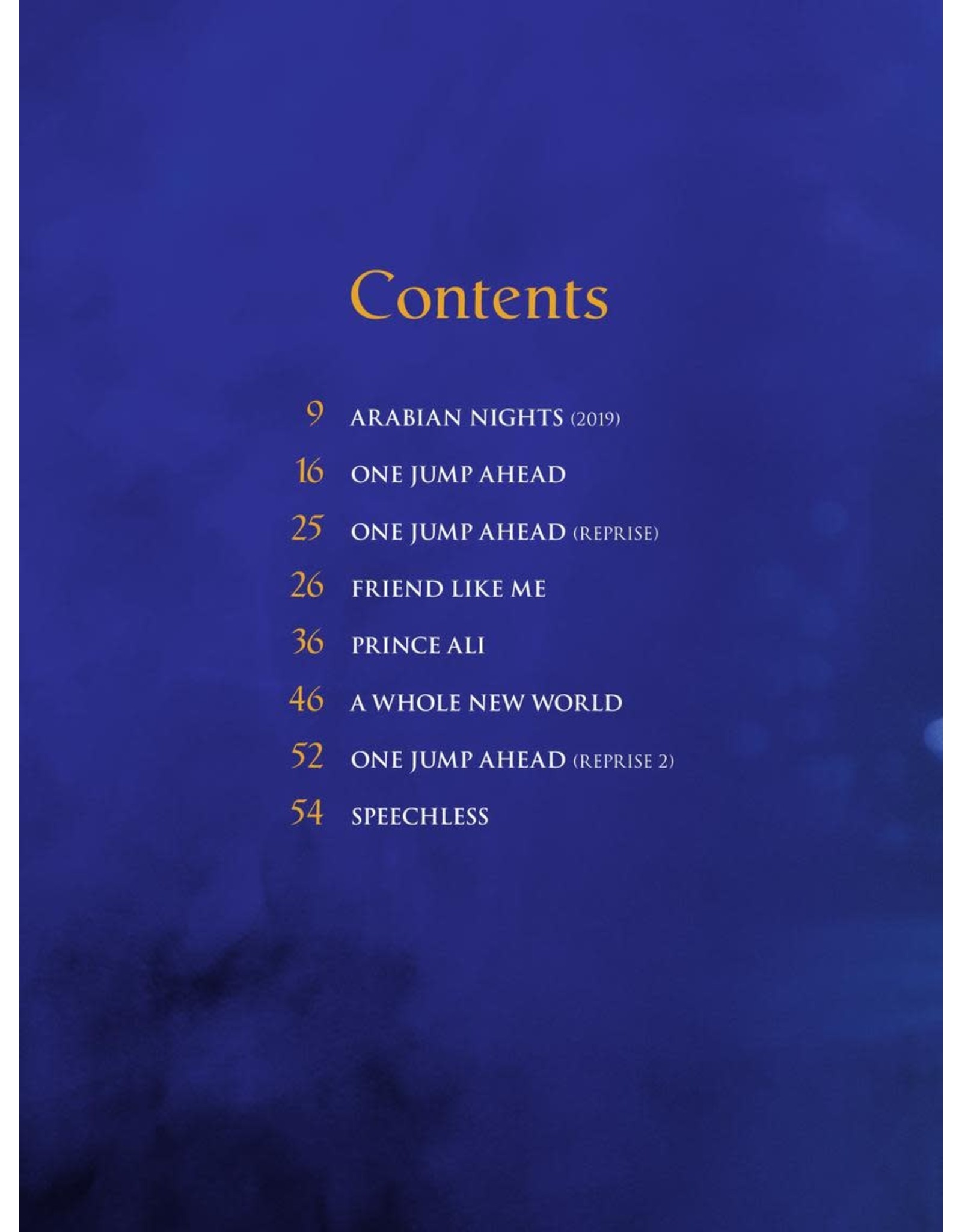 Hal Leonard Aladdin - Songs from the Motion Picture Soundtrack PVG