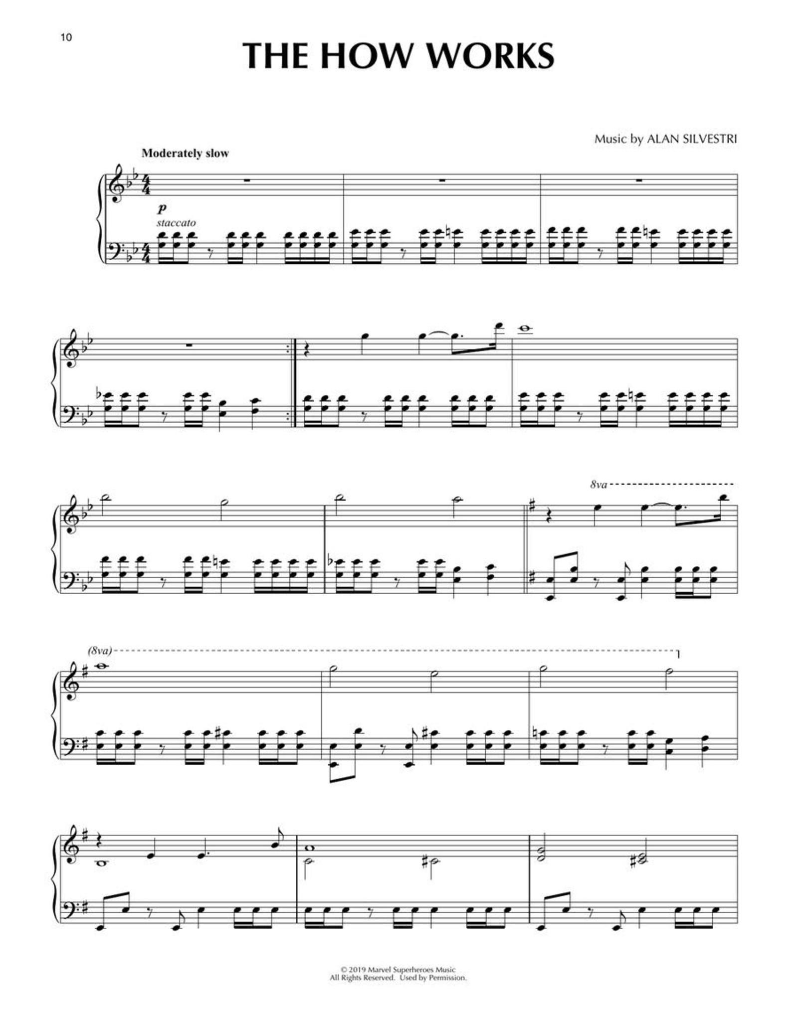 Hal Leonard Avengers Endgame - Piano Solos