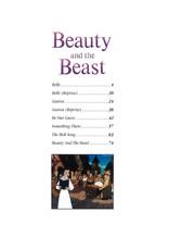 Hal Leonard Beauty and The Beast Animated Movie PVG