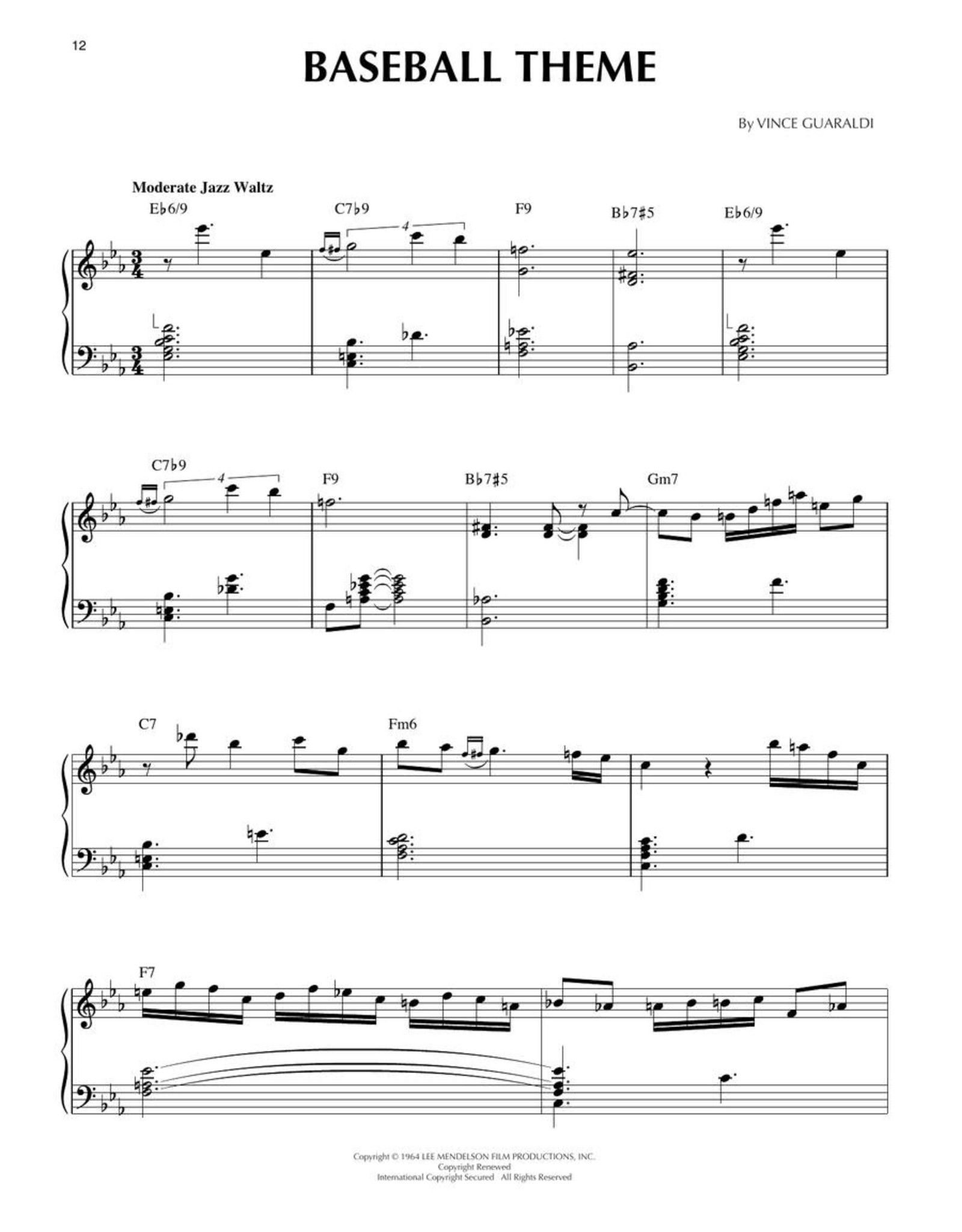 Hal Leonard Charlie Brown Collection - Piano Solos