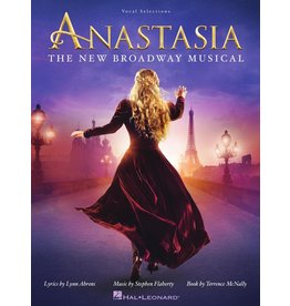 Hal Leonard Anastasia the New Broadway Musical