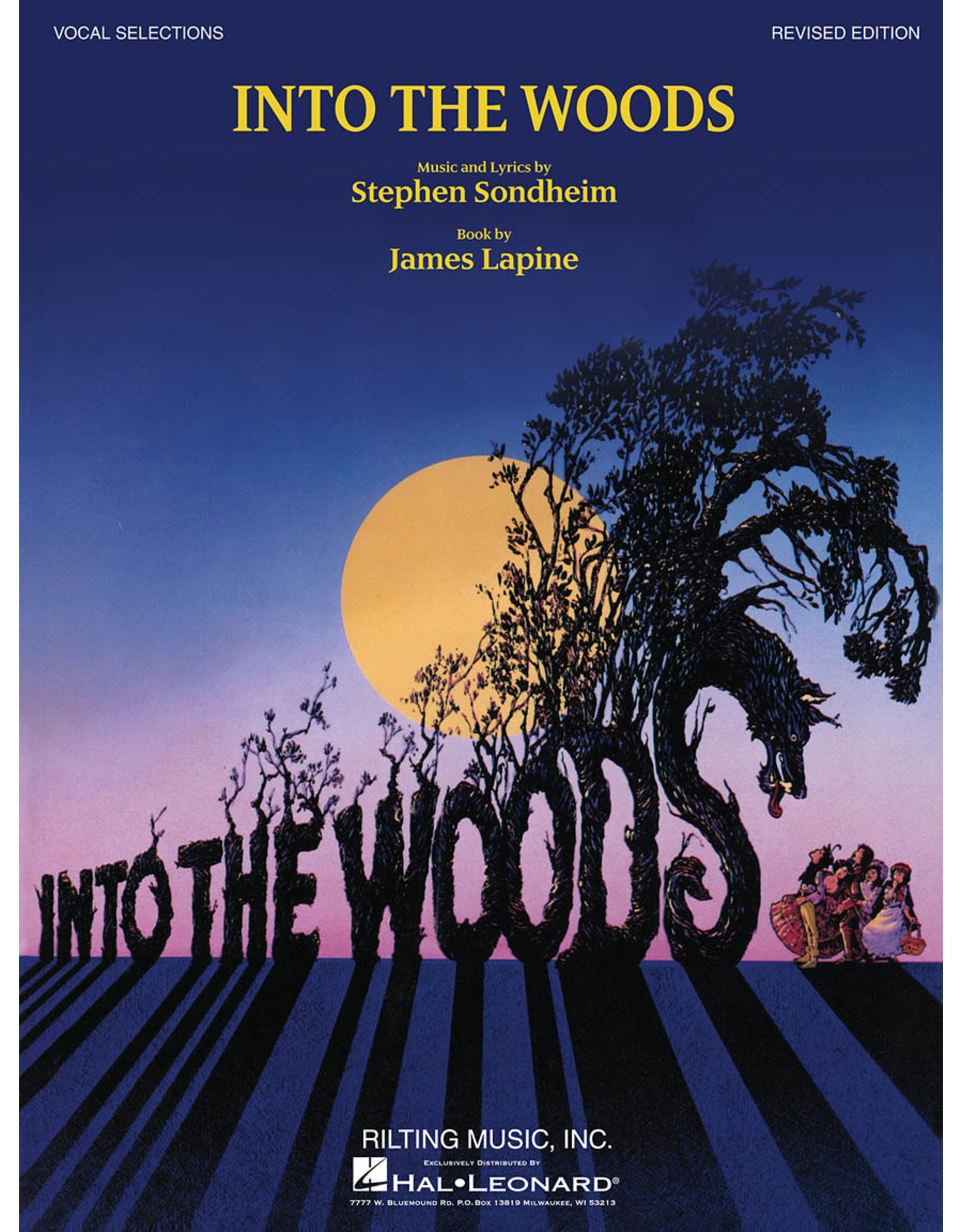 Hal Leonard Into the Woods - Vocal Selections (Revised Edition)