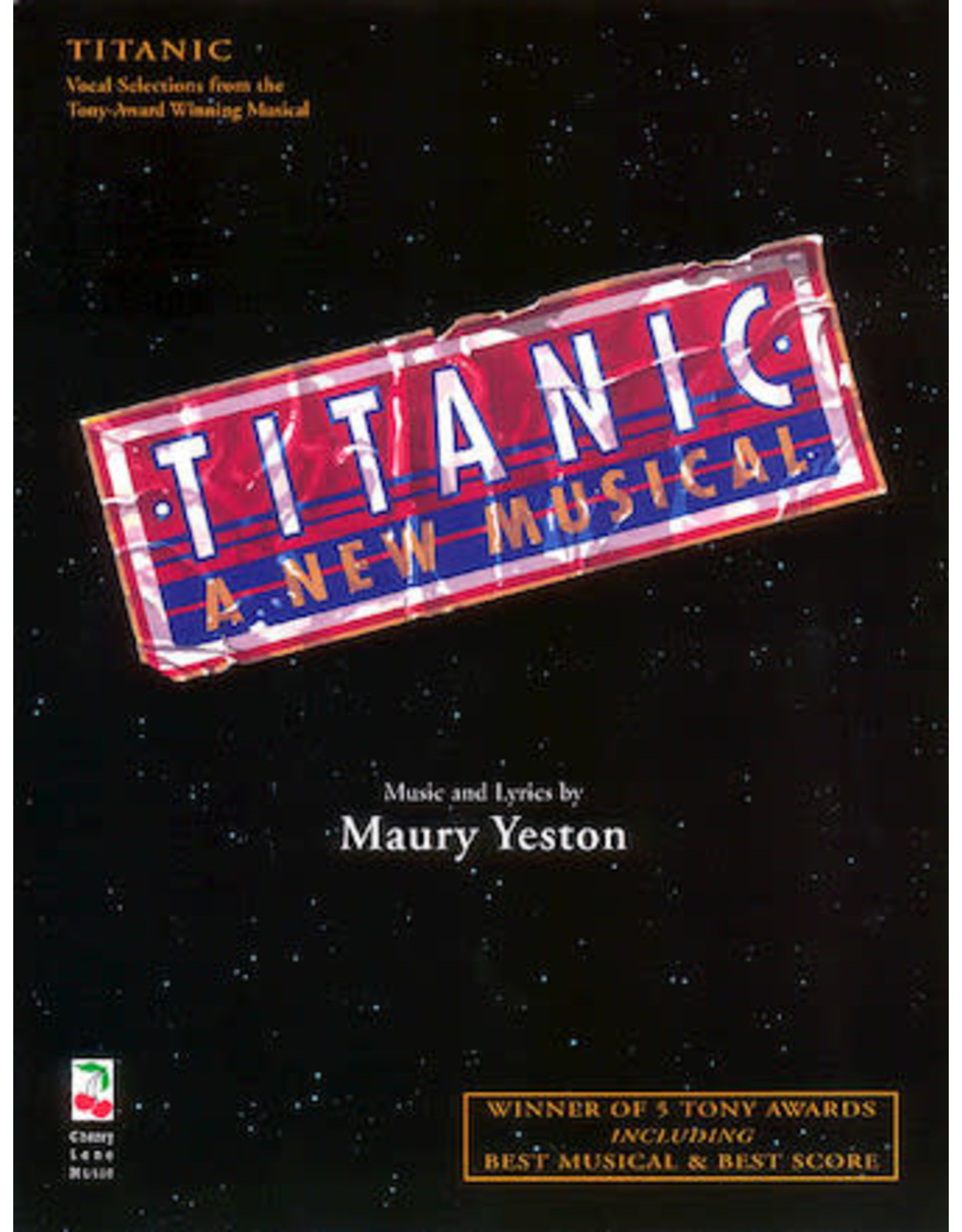 Hal Leonard Titanic the Musical - Vocal Selections