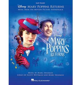 Hal Leonard Mary Poppins Returns - Easy Piano