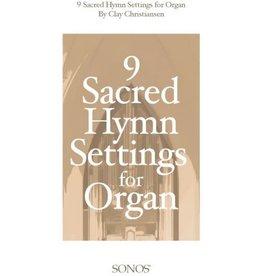 Jackman Music 9 Sacred Hymn Settings for Organ arr. Clay Christiansen