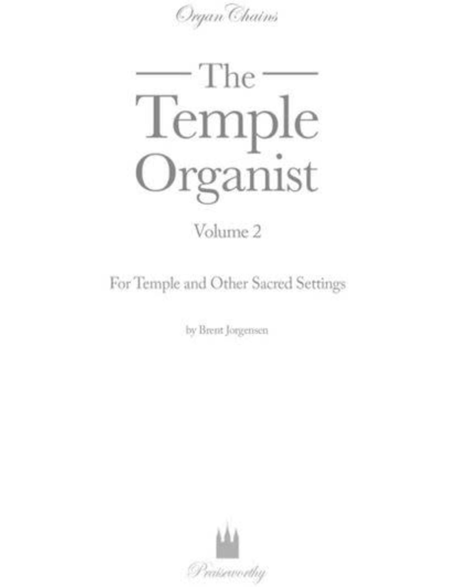 Jackman Music Organ Chains - Temple Organist Volume 2 arr. Brent Jorgensen