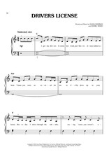 Hal Leonard Sour by Olivia Rodrigo - Easy Piano