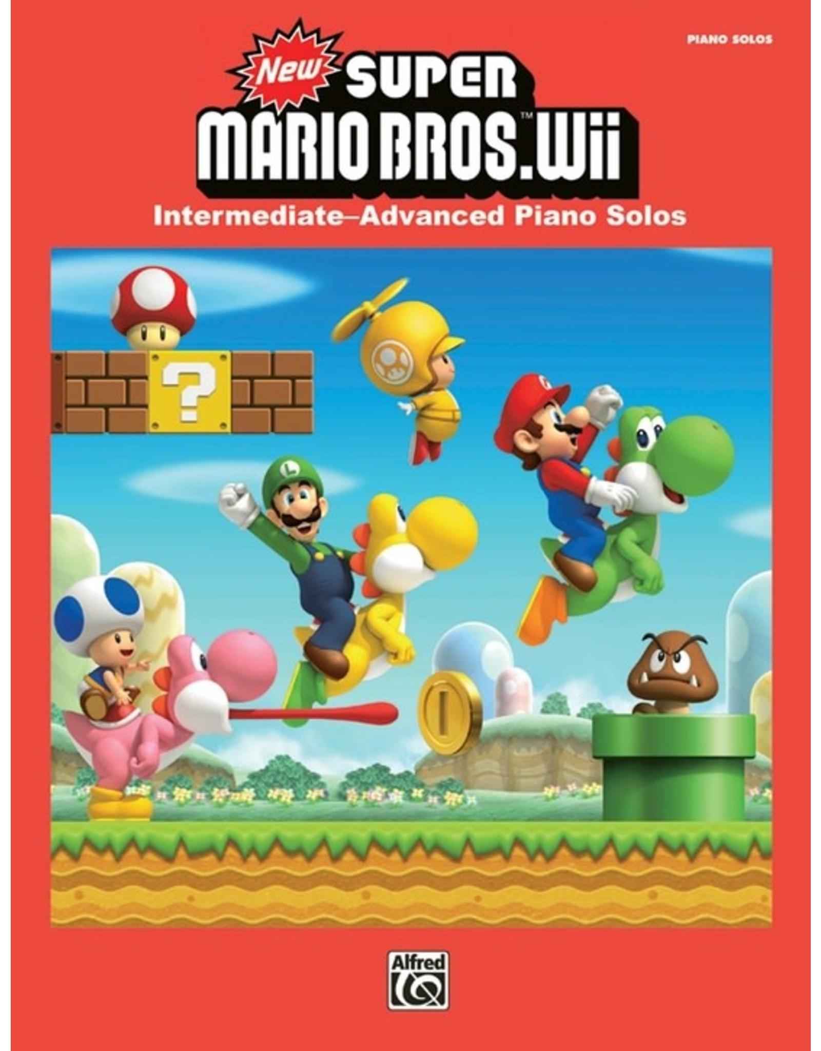 Alfred New Super Mario Bros. Wii - Intermediate to Advanced Piano Solos