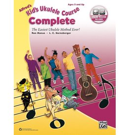Alfred Alfred's Kid's Ukulele Course Complete - Book and Online Audio