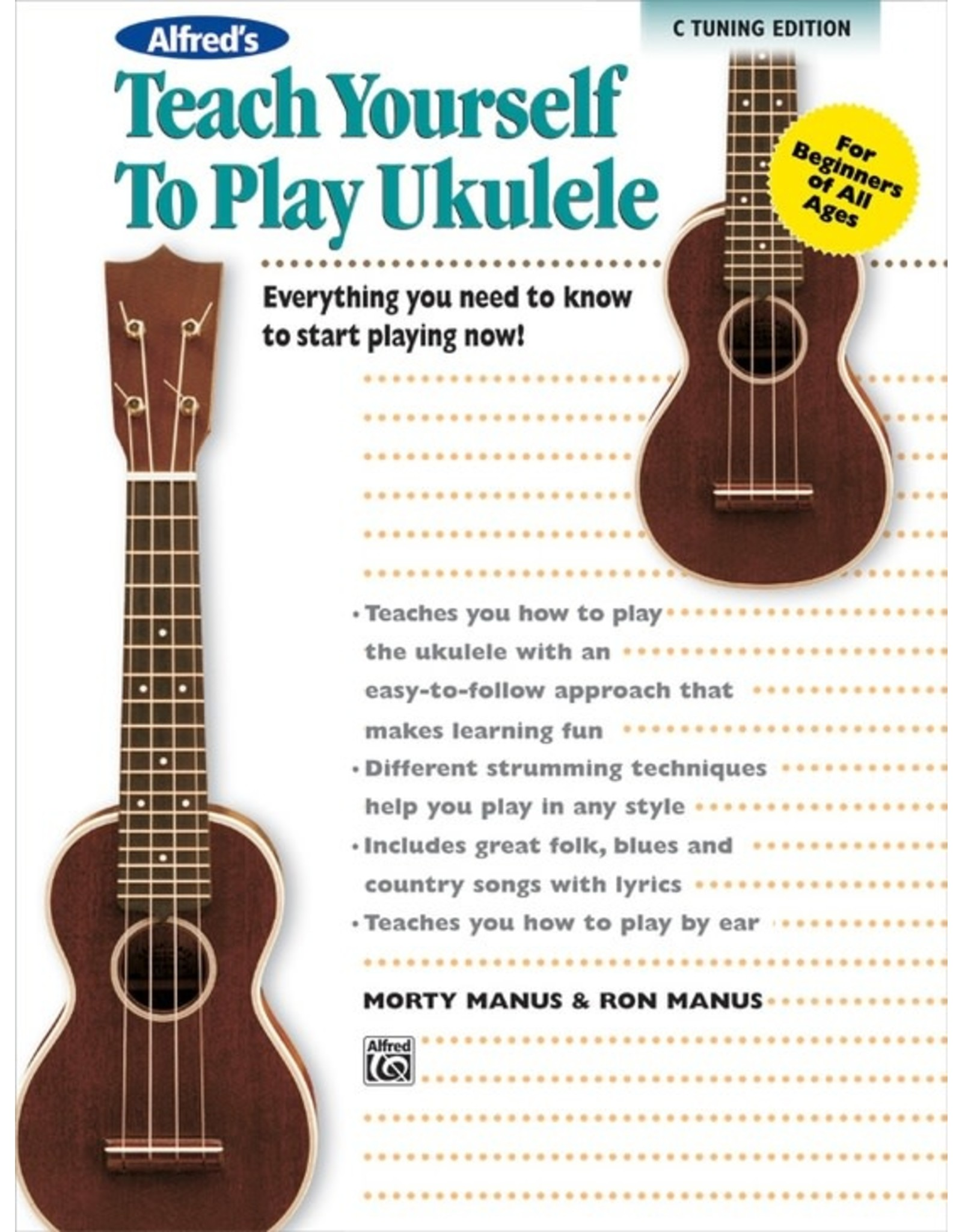 Alfred Alfred's Teach Yourself to Play Ukulele Standard Tuning Edition with CD