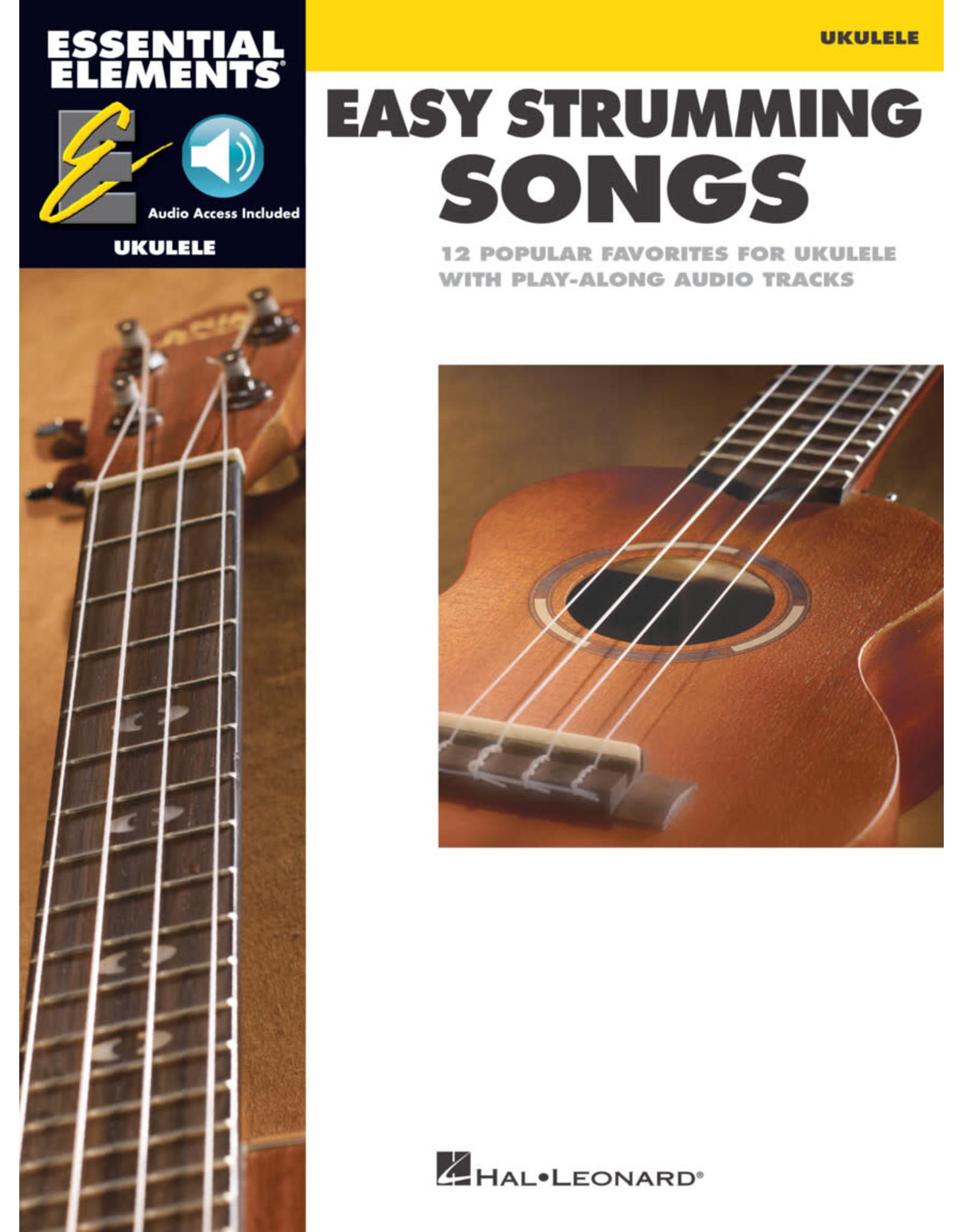 Hal Leonard Essential Elements Ukulele - Easy Strumming Songs