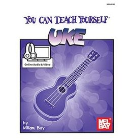 Mel Bay Publications, Inc. You Can Teach Yourself Uke by William Bay - Book + Online Access