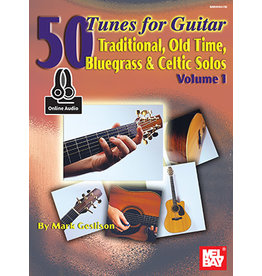 Mel Bay Publications, Inc. 50 Tunes for Guitar with Online Audio Access