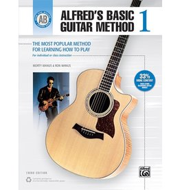 Alfred Alfred's Basic Guitar Method, Book 1