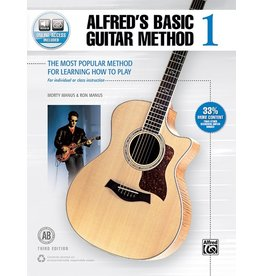 Alfred Alfred's Basic Guitar Method, Book 1 with Online Access