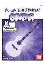Mel Bay Publications, Inc. You Can Teach Yourself Guitar with Online Audio/Video