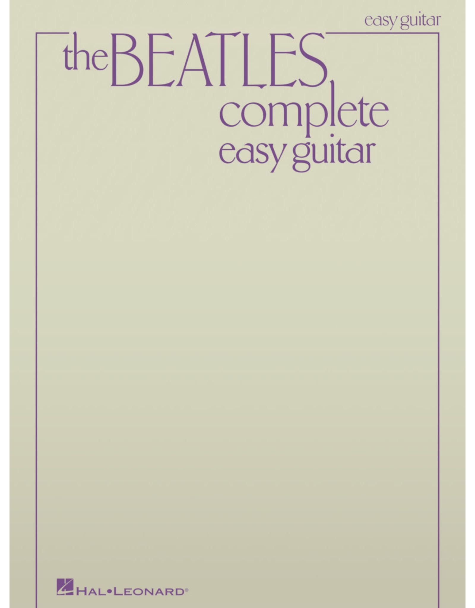 Hal Leonard Beatles Complete - Easy Guitar
