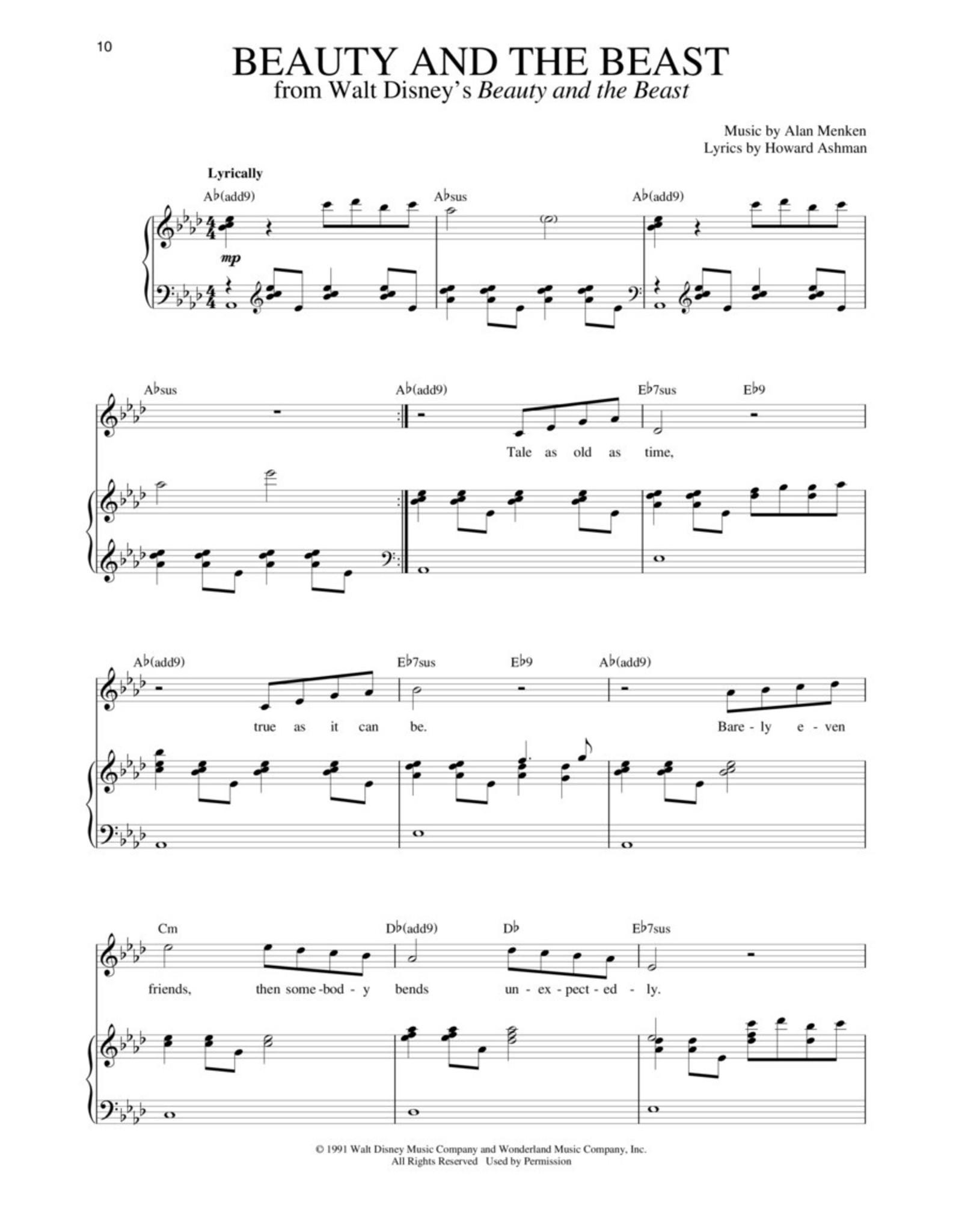 Hal Leonard Disney Songs for Singers - 54 Classics for High Voice