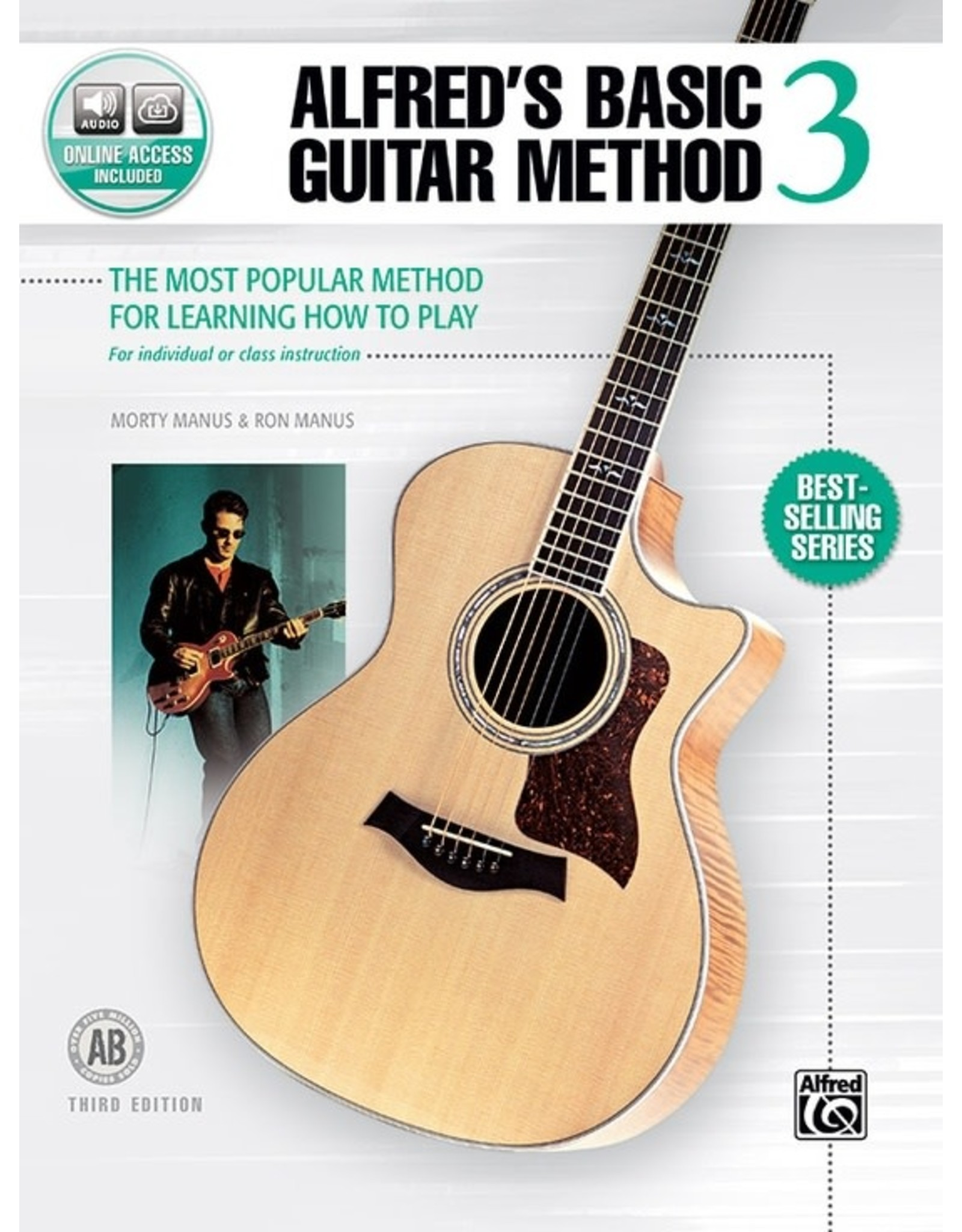 Alfred Alfred's Basic Guitar Method, Book 3 with Online Access