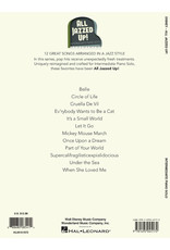 Hal Leonard Disney- All Jazzed Up! Intermediate Piano Solos
