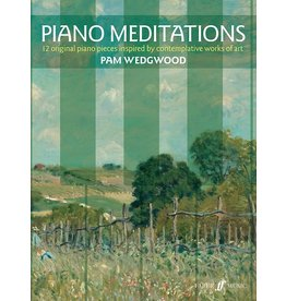 Alfred Piano Meditations by Pam Wedgwood