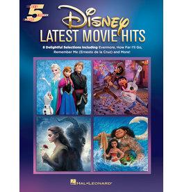 Hal Leonard Disney Latest Movie Hits - 5 Finger