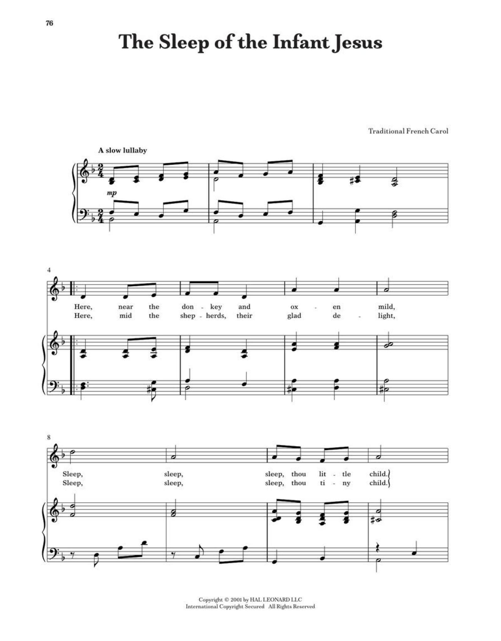 Hal Leonard Children's Christmas Solos