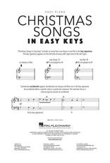 Hal Leonard Christmas Songs in Easy Keys