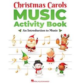 Hal Leonard Christmas Carols Music Activity Book