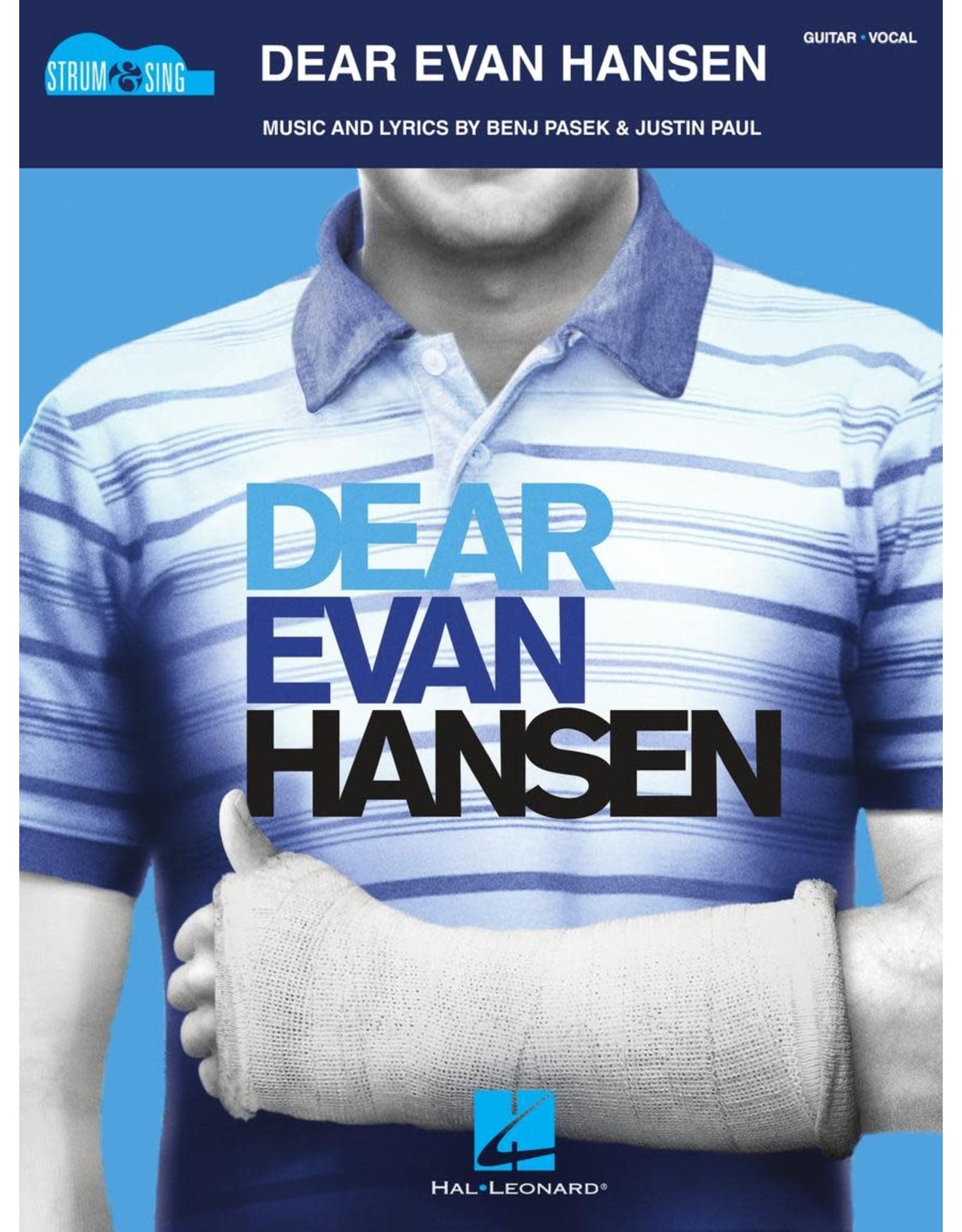 Hal Leonard Dear Evan Hansen - Strum & Sing Guitar