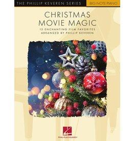 Hal Leonard Christmas Movie Magic arr. Phillip Keveren - Big Note Piano