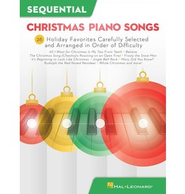 Hal Leonard Sequential Christmas Piano Songs (arranged in order of difficulty)
