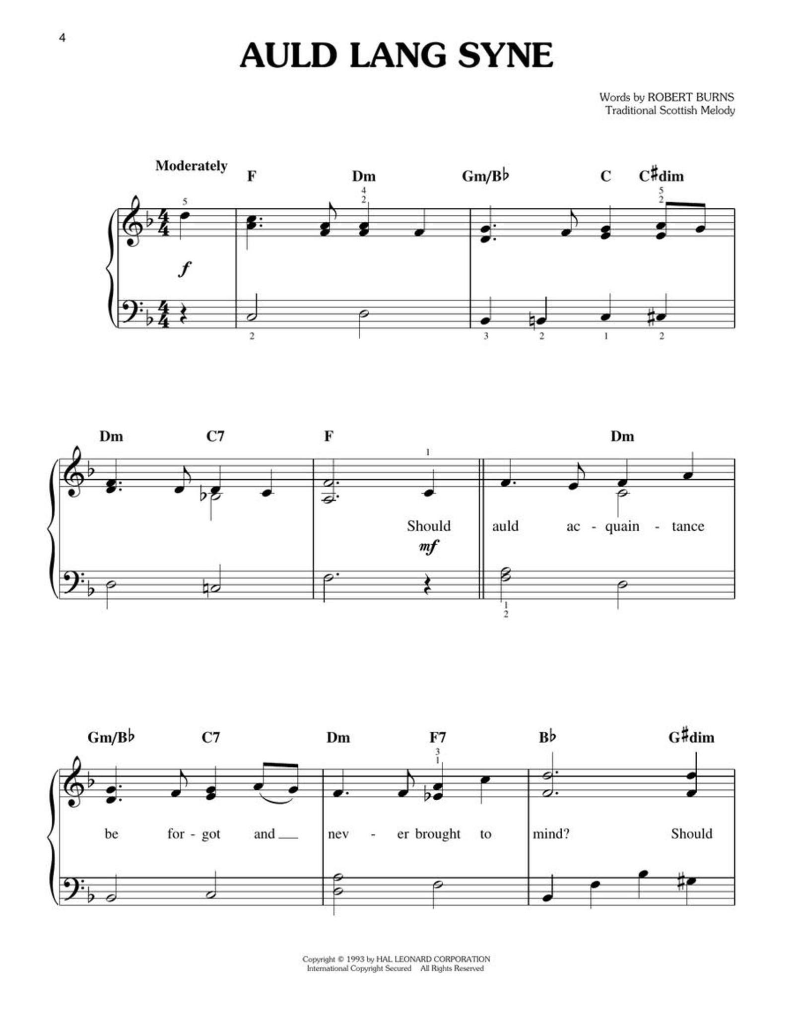 Hal Leonard Easy Christmas Songbook