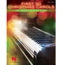 Hal Leonard First 50 Christmas Carols You Should Play on the Piano - Easy Piano